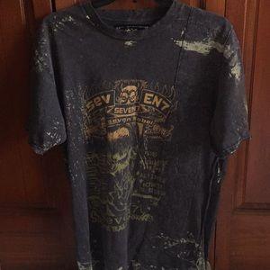 Seven7 Distressed t-shirt